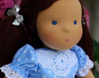 "Waldorf doll classic  Hannah 15-16""  inches -  gift for girls"