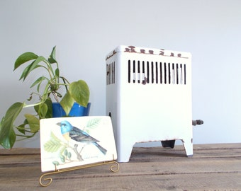 Antique White Enamel Gas Heater Model 9-C-50