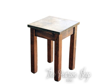 Stained Tower Table
