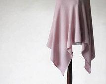 Women's poncho/Nursing Cover/Nursing poncho/Knit poncho/pink poncho/women's sweater/women's cape/pink scarf/pink cape/knit cape/wool poncho