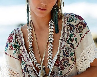 "As Seen In FREE PEOPLE - Original ""Found by the Sea"" necklace by Ouroboros Designs"