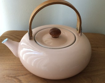 Vintage Coral Mikasa Kettle Express