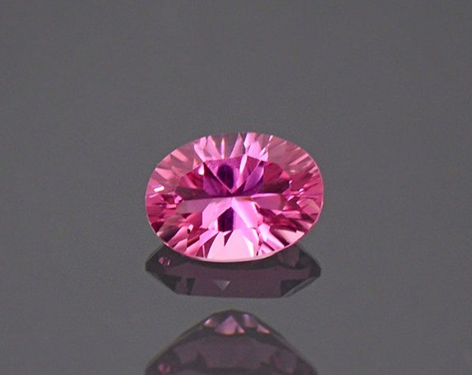 Stunning Hot Pink Tourmaline Gemstone from Afghanistan 0.80 cts
