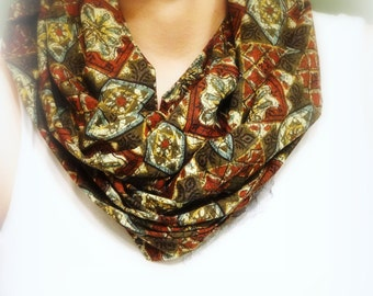Infinity Scarf, Loop Scarf, Fall Winter Fashion, Women's Infinity Scarf, Circle Scarf