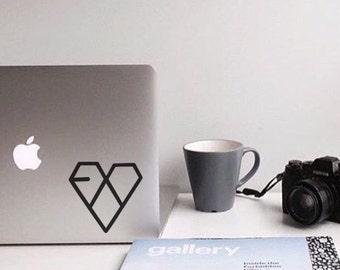 EXO - Kpop Decal - Vinyl Decal - Laptop Decal - Laptop Stickers - Macbook Decal - Macbook Sticker - Music Decal - Car Decal - iPad Decal