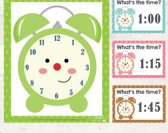 Wha'ts the time playdough mats & task cards AUTOMATIC DOWNLOAD