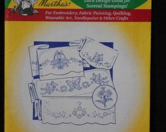 Aunt Marthas Hot Iron transfers Decorative Linens