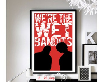 Home Alone (Wet Bandits) Wall Art