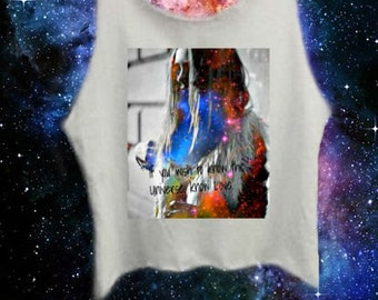 If You Wish To Know The Universe Crop Top