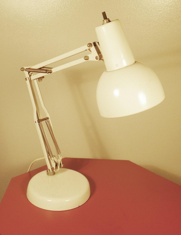 vintage mid century desk lamp. Black Bedroom Furniture Sets. Home Design Ideas