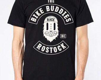 T-Shirt · Bike buddies Rostock · Black