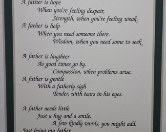 Father   A poem for Dad