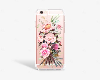 Peony iPhone 7 Case Tough iPhone 7s Case Floral iPhone 7s Plus Case Peony iPhone Case Galaxy S7 Case Floral Samsung Galaxy S7 Edge Case