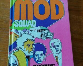 The Mod Squad Book Vintage 70s