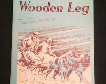 Children's book - Aurie's Wooden Leg - 1951 paperback