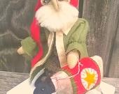 Primitive Santa Sheep- Kris Kringle Lamb-ATGCele