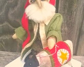 Primitive Santa Sheep- Kris Kringle Lamb