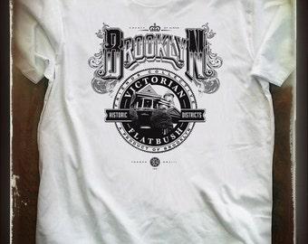 Victorian Flabush historic district, Brooklyn N.Y. T shirt