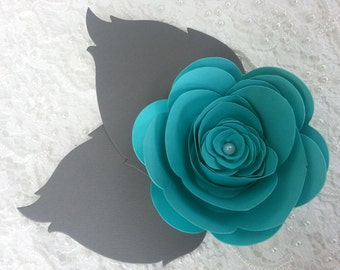 25 LARGE PAPER FLOWERS