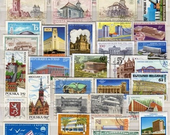 Architecture Stamps Etsy