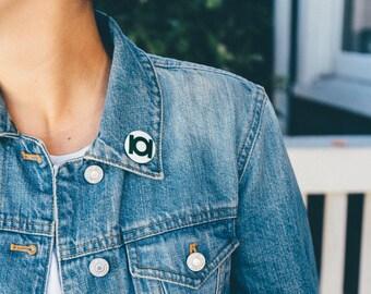 Green Lantern Pin