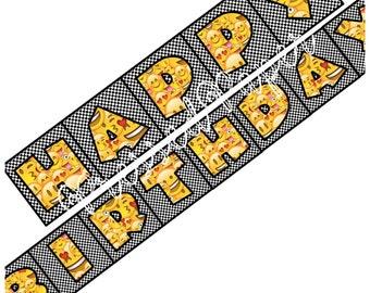 Emoji Happy Birthday Banner-Digital Instant Download