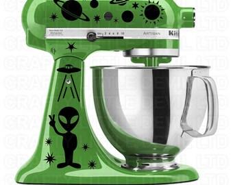 Alien Mixer Decal
