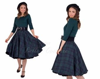 Custom Made & Handmade - 50s skirt for the winter item: 100.089-0805