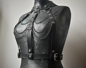 Rubber Post Apocalyptic Amazona Fetish Warrior Top