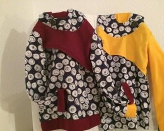 Hoodie girls sweater Gr. 104