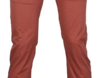 Pantalon en Coton Style Chino.