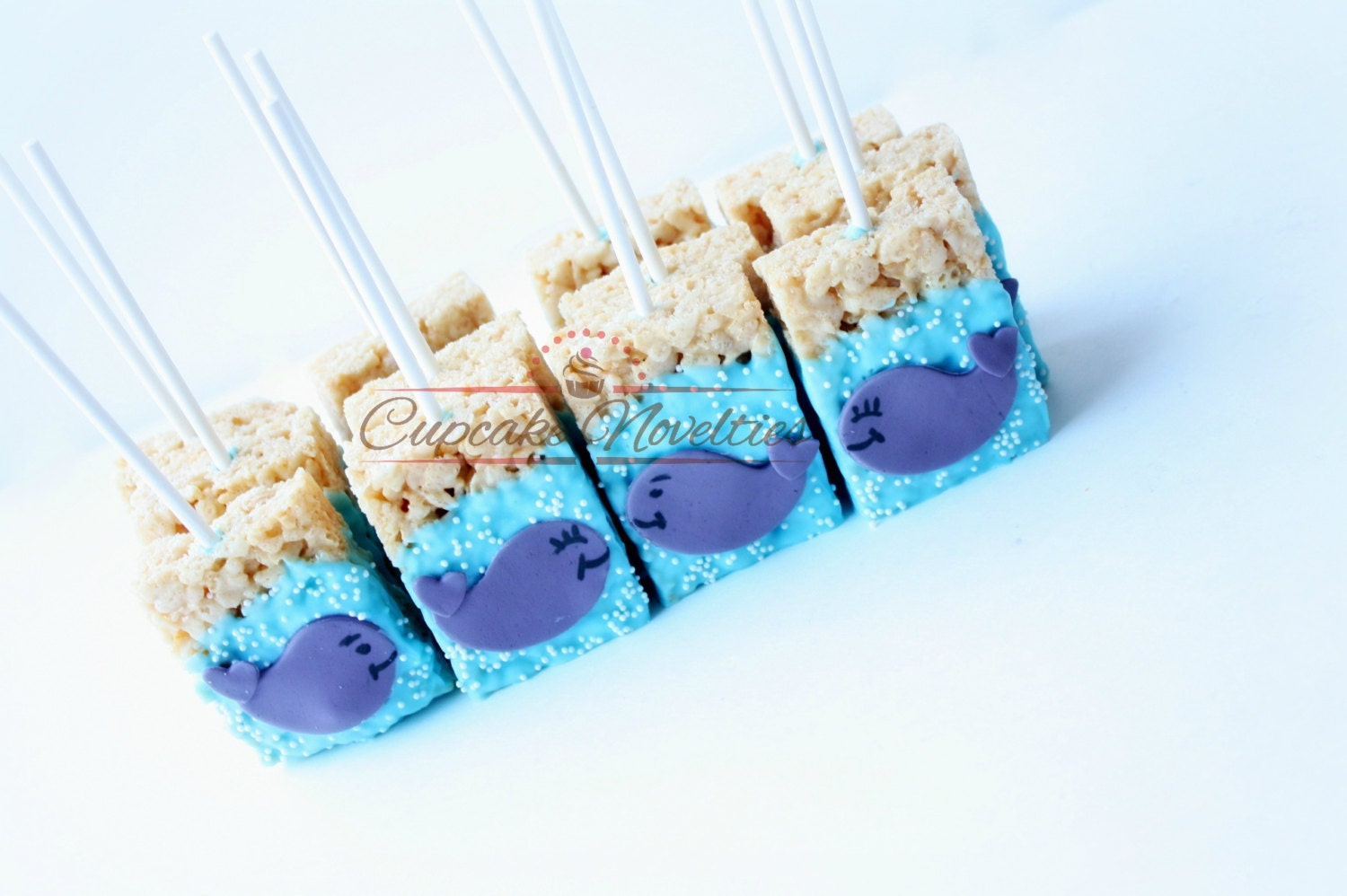 Whale Cookies Whale Baby Shower Favors Under The Sea Party
