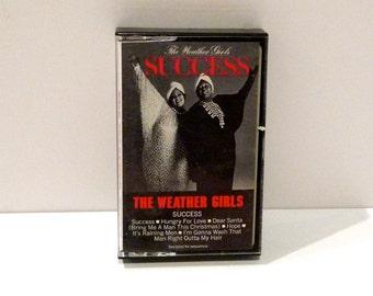 The Weather Girls Cassette Tape Its Raining Men Vintage 1980s Dance Disco Music Band Success Dear Santa Bring Me A Man This Christmas