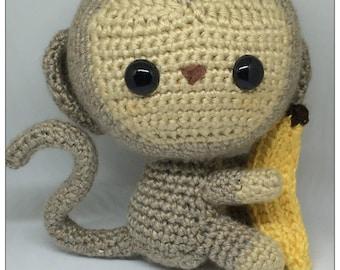 Chibi Amigurumi Monkey