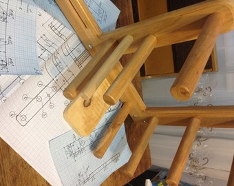 Vintage Inkle Loom Weaving Plans (INCHS)