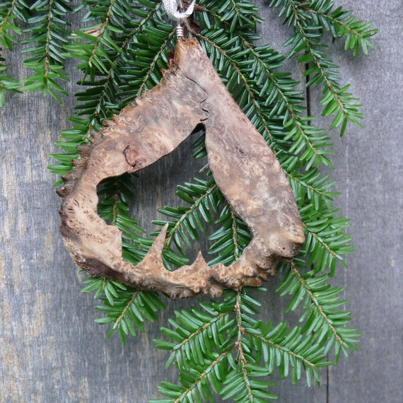 Natural Christmas Tree Ornament Gingko Leaf Ornament Natural