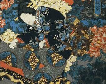 Japanes Woodblock Print No. 5 Digital Download JPG Image