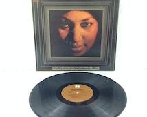 Aretha Franklin Queen Of Soul Vintage Vinyl Record Album lp 1968 Harmony Records HS 11274 Columbia Records