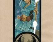 Jedi Jasmine, Star Wars/Disney Mash Up Sketch