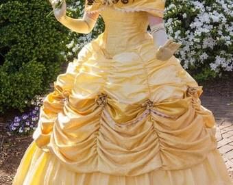 Golden Belle Inspired Gown - Specialty
