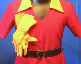 Gaston Shirt and Gloves (Child Size 10-12)