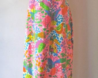 60s-70s Maxi Dress