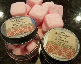Solid Sugar Scrubs, Body Polish, Gentle Exfoliater