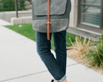 Waxed Canvas Bag / Satchel / Messenger Bag