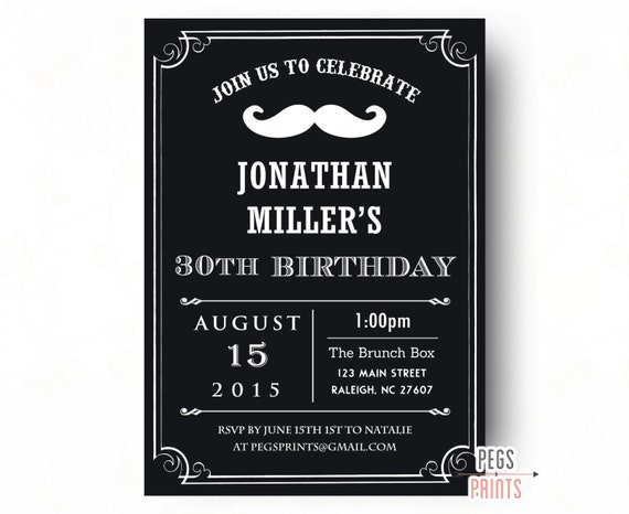 Birthday invitations for men printable birthday invitations for il570xn filmwisefo