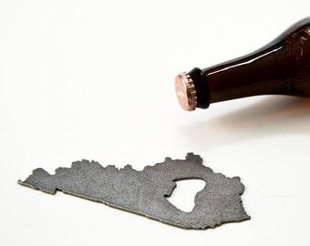 July 4th Kentucky Steel Bottle Opener - Travel Souvenir, Groomsmen Gift, Wedding Favor, Christmas Gift