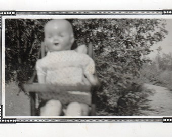 "Vintage Photo ""the baby doll"""