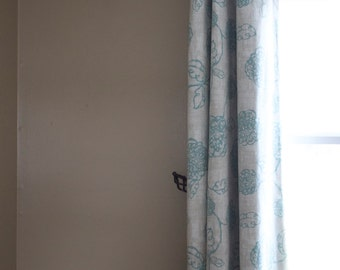 Custom Grommet Curtain- You pick the fabric