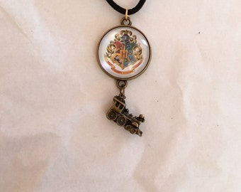 Hogwarts Express Pendant Necklace