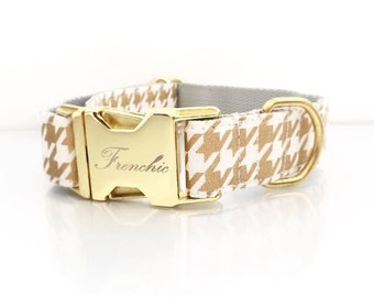 "Adjustable dog collar ""Divine"""